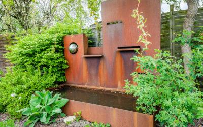 Fontaine de jardin à Sarreguemines