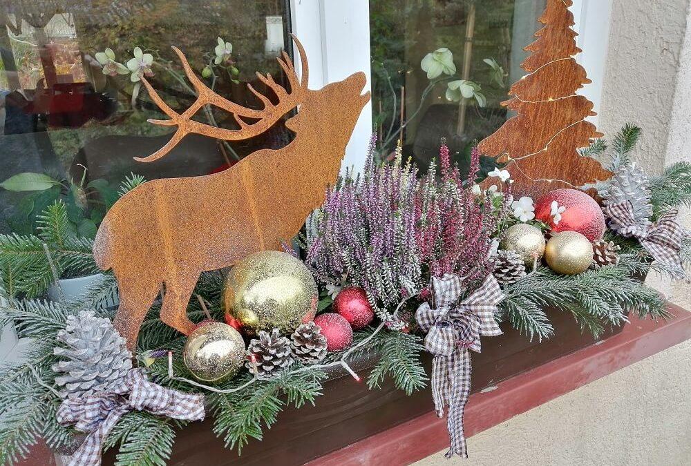 Comment décorer son jardin pour Noël ?